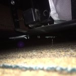 ball under the couch