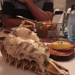 Lobster tail from the steakhouse