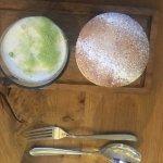 Christmas pudding soufflé