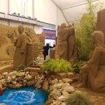 Sand Nativity照片
