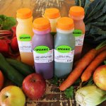 Fresh pressed juices made daily