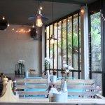 eatery's interior