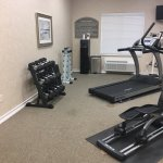 Fitness room(weights and water station)
