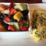 Thanks to the chef who made such an amazing omelette despite my food allergies!