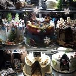 Our new festive cake cabinet