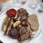 second day visit - perfect meat plate