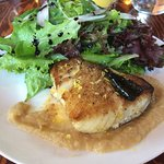 Pan eared sable fish lunch entree