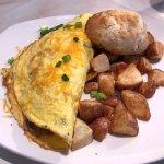 philly steak omlet