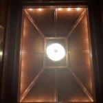 Elevator ceiling detail