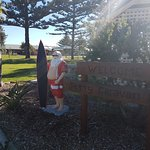 Surfin Santa - relaxing before his big day!