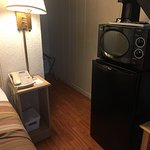 Double Room with One Queen and One Double- Non-Smoking; Mini fridge, microwave, and coffee!