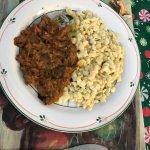 Beef Goulash and Spätzle