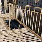 Fire escape right outside our window