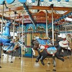 Another view of the carousel at the River Walk.