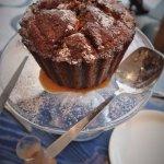 THE BIG MUFFIN coffee cake, espresso dulce de leche
