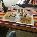 Freshly Made Shrimp and Lobster Ceviche -- Fabulous!!!