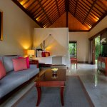 One Bedroom Pool Villas - Spacious bedroom overlooking garden and private pool. Ultra relaxing.