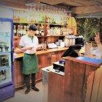 Serice Bar and Cashier Counter