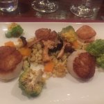This was our scallop entree