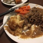 Just a little Pot Roast Dinner at the diner!
