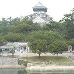 小倉城の正面に位置する景観に良さ