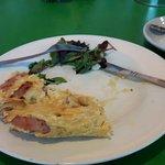 Oops,  my omelette is sooooooo good I forgot to take a photo before diving in!