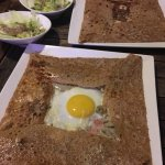 Savoury crepe at its best