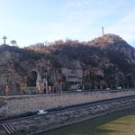 Photo of Gellert Hill and Statue