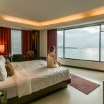 The sea facing junior suite on the 15th floor
