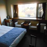 Very spacious room by Japanese hotel standards