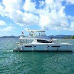 Runner Duck Leoopard 51PC for bareboat charter BVI