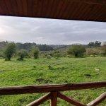 Ngorongoro Rhino Lodge - my room balcony