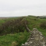 Linear view of Hadrian's Wall