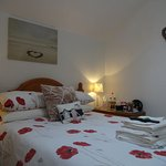 Room 5 - Double and single beds; can be booked as a double, twin or family room