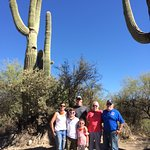 The Aguilar's in the Sonoran Desert
