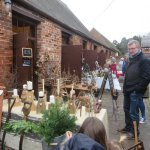 Christmas craft market at the weekend