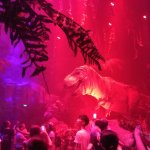 T-Rex vs Spinosaurus inside