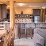 3 Bedroom Condo: Kitchen & Dining Area