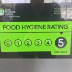 The Mocha Restaurant is Happy  to receive a 5 star food hygiene rating