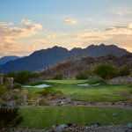Desert sunsets await you at Cascata, here from the 15th tee.