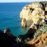 Ponta da Piedade, as seen from the cliff