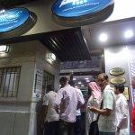 Habibah Sweets - waiting in line at pay box