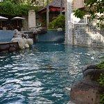 Three tiers of pools