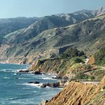 Legendary Pacific Coast HIghway on the way to Monterey