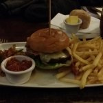 Prime steak Burger & fish end chips