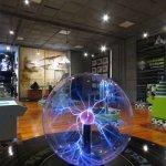 Vista del MIO desde el experimento de Lámpara de Plasma de Tesla