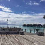 Amazing Views no matter where you look! Main Restaurant open space looking to over water bungalo
