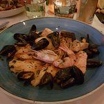 Bouillabaisse (the soup is served separately)