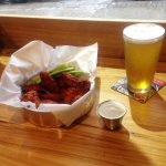 We offer a wide variety of appetizers and 15 rotating craft beers on draft!