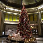 Christmas tree in Fairmont Peace Hotel